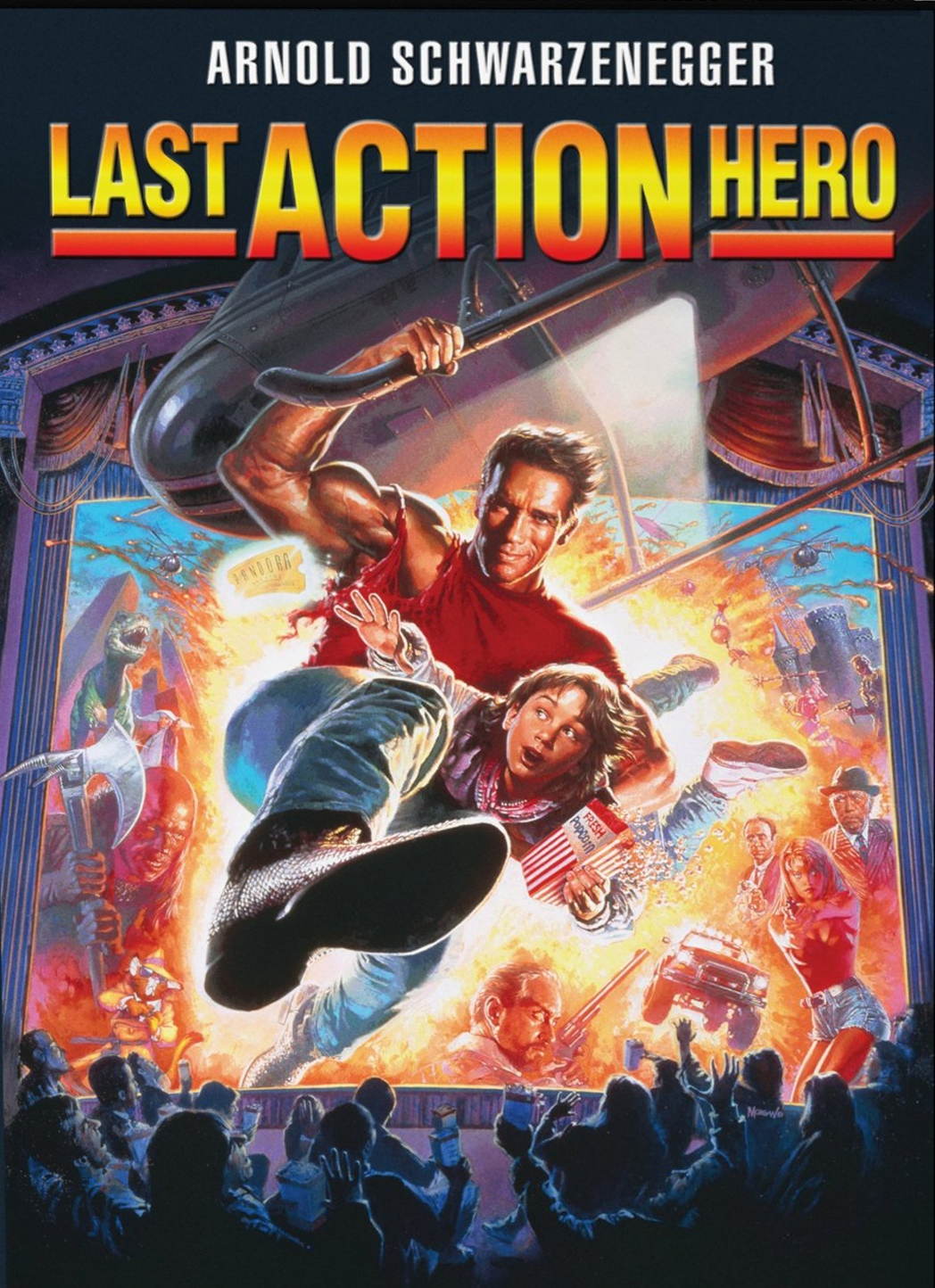 action movies hero arnold schwarzenegger a real life samson Last action hero is a 1993 american fantasy action-comedy film directed and  produced by john mctiernan it is a satire of the action genre and associated  clichés, containing several parodies of action films in the form of films within the  film the film stars arnold schwarzenegger as jack slater, a los angeles police   danny returns to the real world before the portal closes.