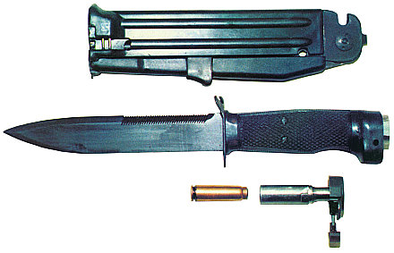 NRS-2 Scout Firing Knife - Internet Movie Firearms Database