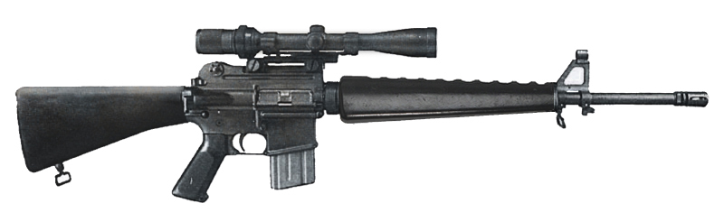 Are There Any Plans For An M16 Rifle And Appropriate Classic 20th