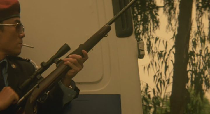 Rifle in shooter movie