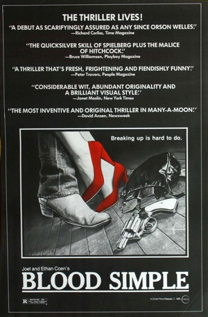 an analysis of the film blood simple With blood simple joel and ethan coen use texas to develop a similarly surreal environment straightforward film analysis and biographical information.