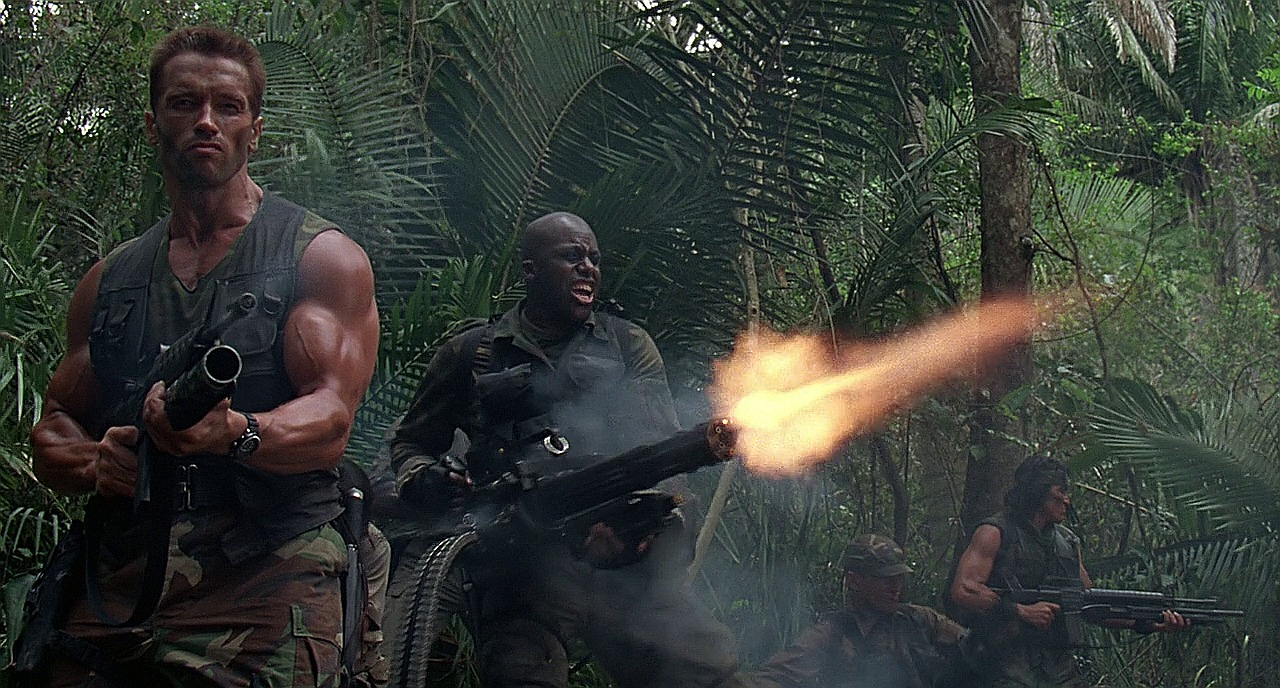 Predator Movie Guns The First Predator Movie