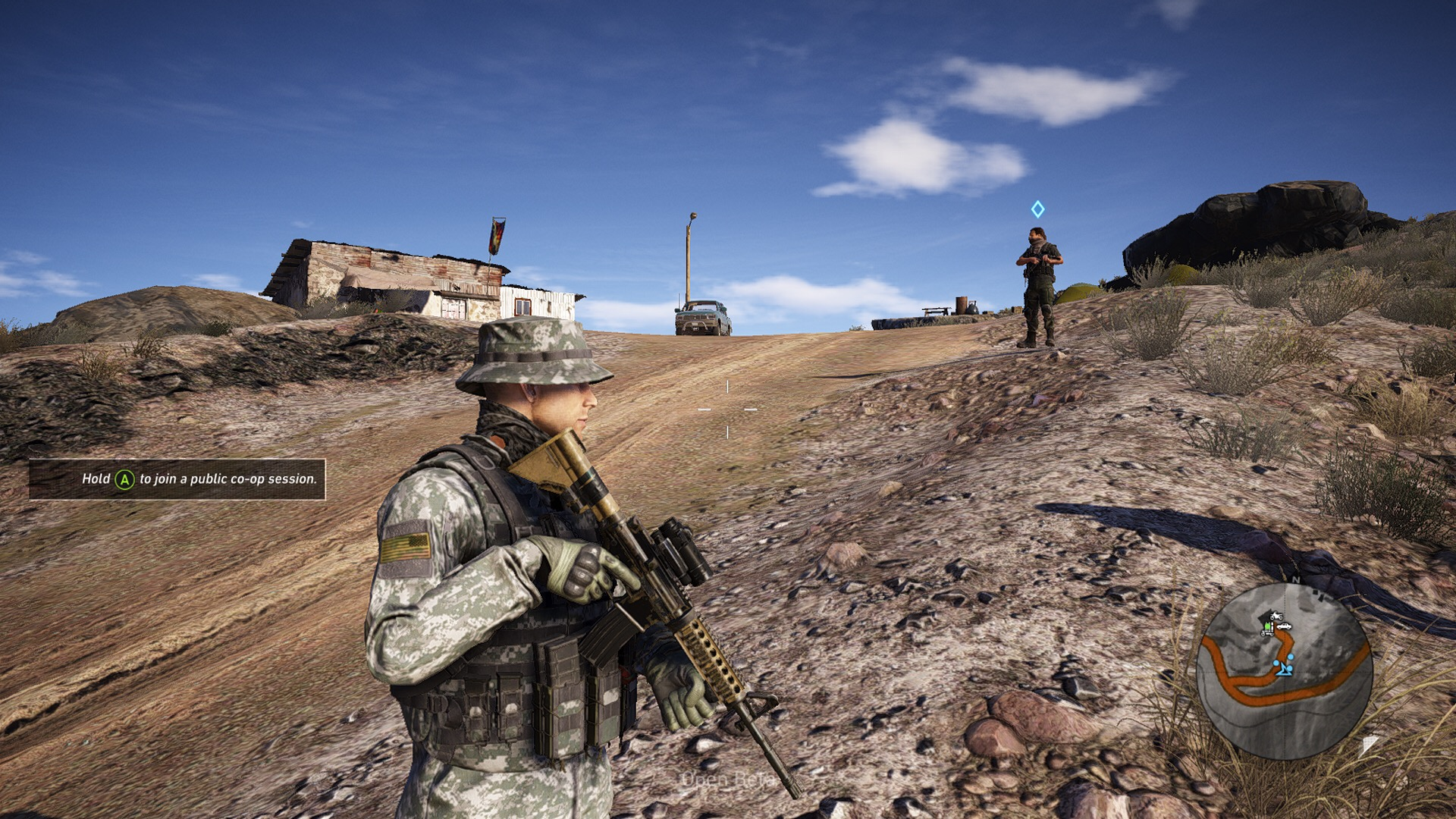 ghost recon wildlands how to get the m4a1