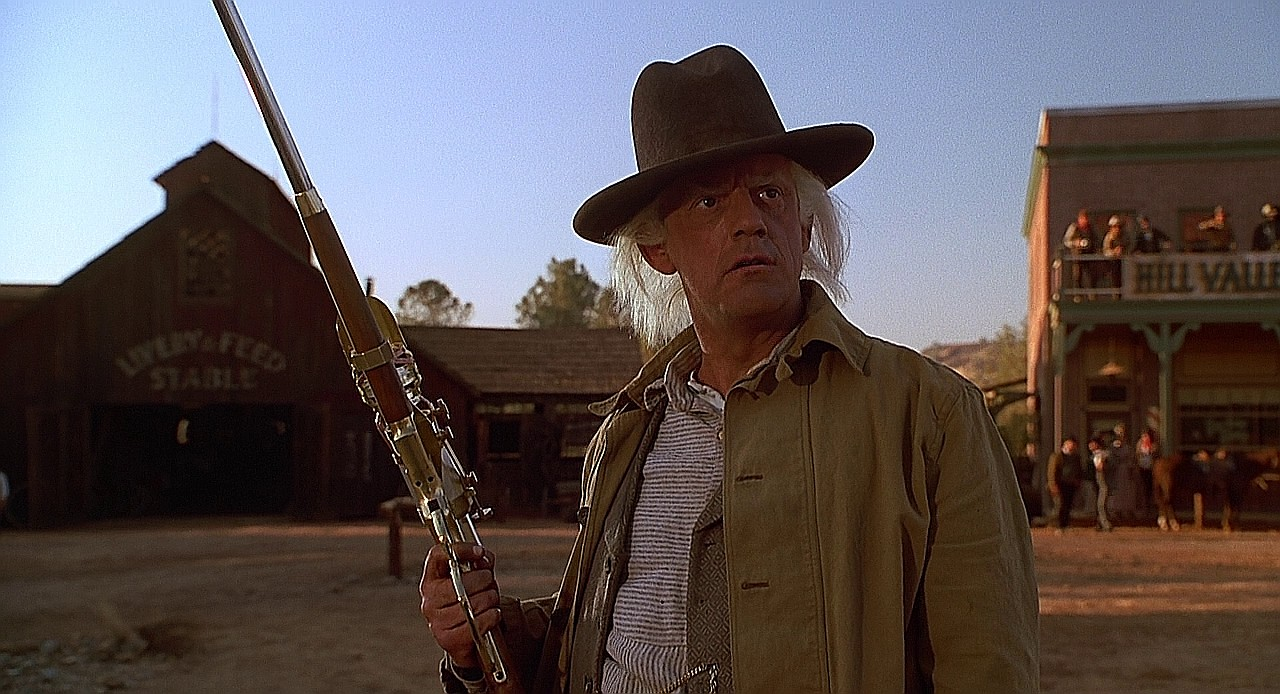 Emmet Brown, Western BTTF3_013