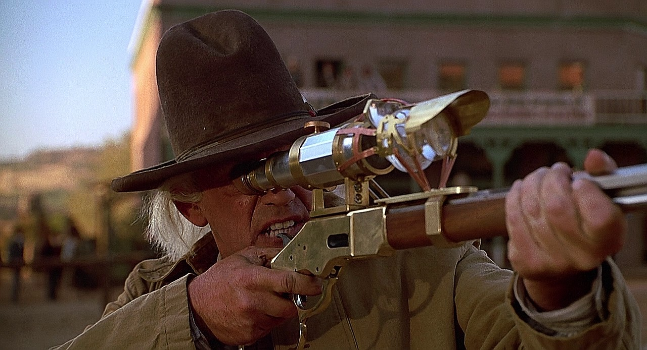 Emmet Brown, Western BTTF3_011