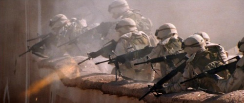 Machine Gun Fire : Rules of engagement internet movie firearms database