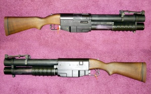 US M79 pump-action four-shot 40x46mm grenade launcher.jpg
