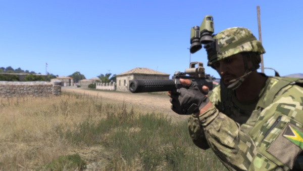 Talk:ArmA III - Internet Movie Firearms Database - Guns in Movies