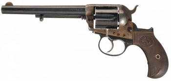 Colt Lightning 1877 Cavalry - .38 Long Colt.