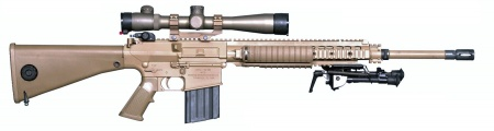 Knight's Armament SR-25 - Internet Movie Firearms Database ... M110 Sniper Rifle Suppressed