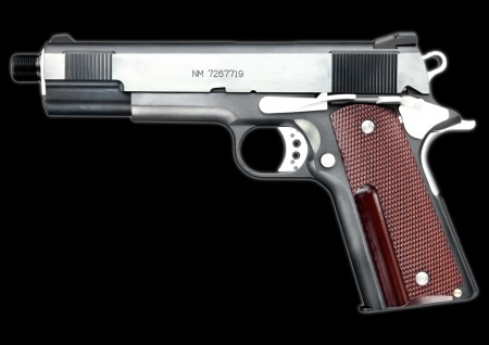 Western Arms replica of Naked Snake's M1911A1 from Metal ... M1911 Custom Mgs4