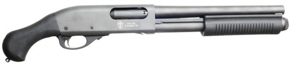 Rem 870 Aow http://www.imfdb.org/wiki/Talk:Remington_Model_870