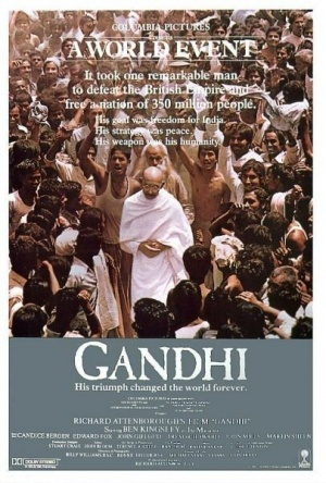 movie review of the film gandhi From the film, gandhi has the vision of taking up indian independence (attenborough, 1982) he is seen to abandon all the worldly belongings for the struggle .