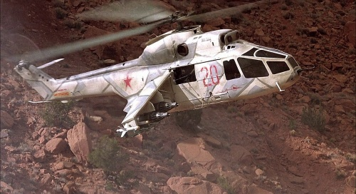 Russo-french helos in the rambo video game! 500px-RedDawnFakeHindDoorGunA