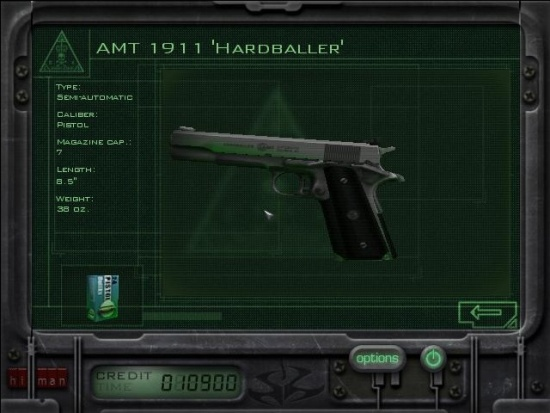 Hitman Codename 47 Internet Movie Firearms Database Guns In Movies Tv And Video Games