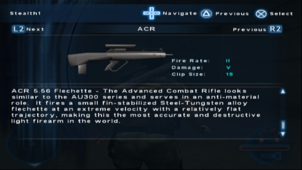 Syphon Filter: The Omega Strain - Internet Movie Firearms Database