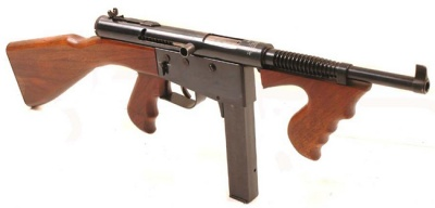 Thompson Submachine Gun - Internet Movie Firearms Database