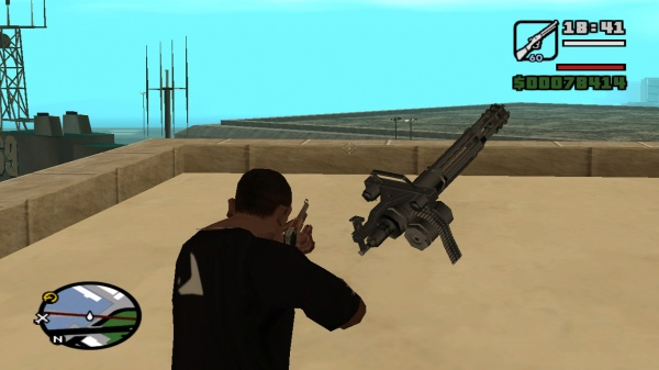 Grand Theft Auto: San Andreas - Internet Movie Firearms