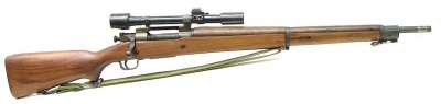 M1903A4 Springfield sniper w/ M84 scope - .30-06 with