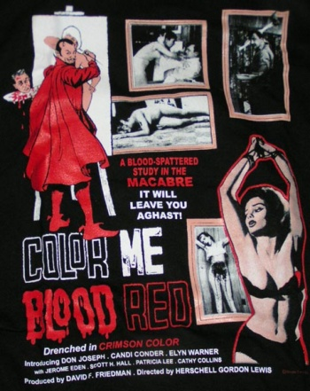 Color Me Blood Red - (1965)
