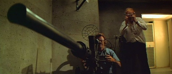 Thunderbolt (Clint Eastwood) prepares to blast the wall with the Oerlikon. & Thunderbolt and Lightfoot - Internet Movie Firearms Database - Guns ...