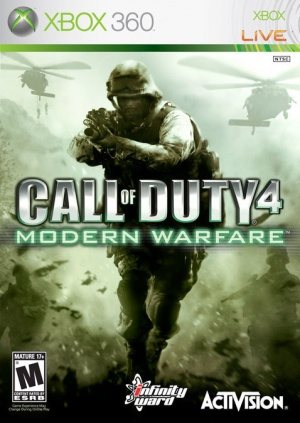 call of duty 4 guns. video game Call of Duty 4: