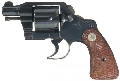 Colt 38 official police revolver serial numbers