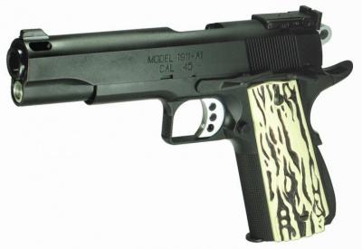 M 1911 An airsoft reproduction of the Springfield Armory M1911-A1 made by J ...