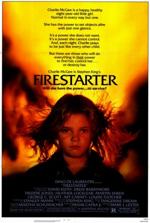 a character examination of charlie mcgee in firestarter by stephen king Victoria vicky tomlinson mcgee is a character in the book and film firestarter she was created by stephen king in the film she was played by heather locklear she is charlie's mother, who was killed by two shop agents a college student vicky tomlinson participated in a government-funded.