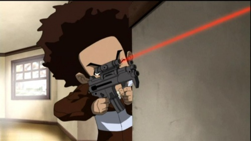 Boondocks  TheThe Boondocks Huey With Gun