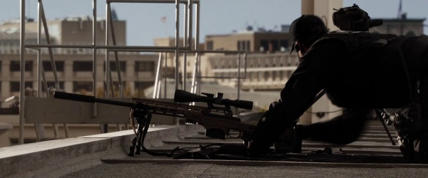 Cadex Chassis 50 bmg spotted in Arnold Schwarzenegger's new