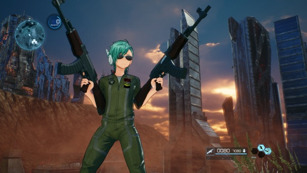 Sword Art Online: Fatal Bullet - Internet Movie Firearms