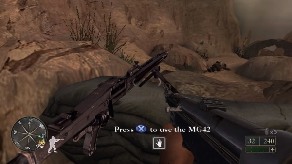 Talk:Call of Duty 2: Big Red One - Internet Movie Firearms Database