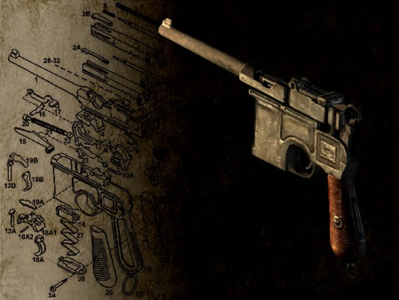 Mauser C96  quot Broomhandle quot  PistolYithian Call Of Cthulhu