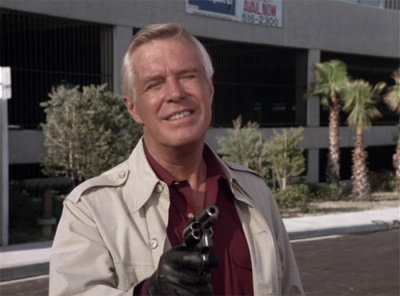 George Peppard As Hannibal Smith Wields A Colt Detective Special In The Team