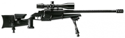 Blaser 93 LRS2 rifle model, sniper rifle sniper rifle made of wood weapon layout