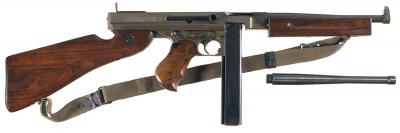 Thompson Submachine Gun - Internet Movie Firearms Database - Guns in