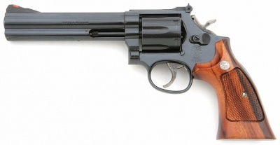 Smith Wesson Model 586 With 6 Barrel