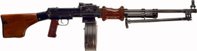 RPD Light Machine Gun - 7.62x39mm.  The version used in the film 
