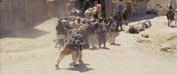 kandahar the movie Footage of the sprawling kandahar airfield and the city itself, along with scenes  of real helicopters dodging tracer fire all help to sell the movie's.