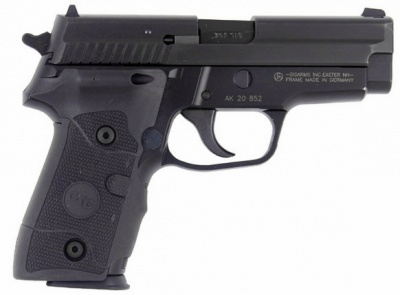 SIG-Sauer P229 .357 SIG with Crimson Trace grips