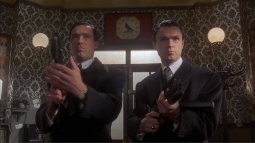 Krays, The - Internet Movie Firearms Database - Guns in ... 10 Gauge Double Barrel Shotgun