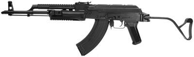 The VFC Full Metal AK AIMS PMC comes with an automatic blow back bolt that...