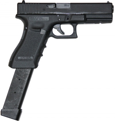 Glock 17 (Converted to Full Auto)