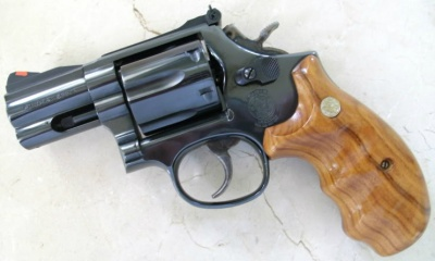 Smith Wesson Model 586 With 25 Barrel