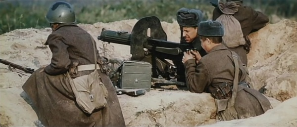 Image result for ww2 russian maxim machine gun