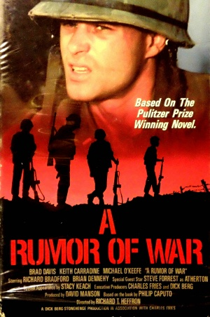 essay on a rumor of war A rumor of war: the changes of a solider essay sample a rumor of war is a compelling true account of the vietnam war that takes the viewers into the jungle.