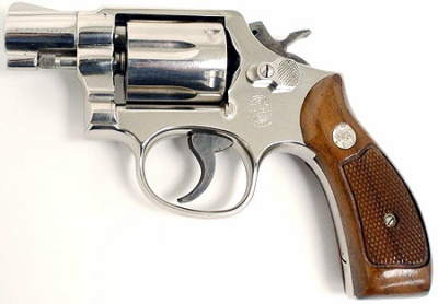 Smith and Wesson Model 10 Snub Nose