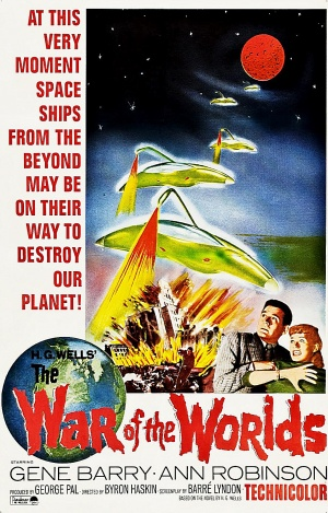 war of the worlds 1953 poster. remake:War of The Worlds