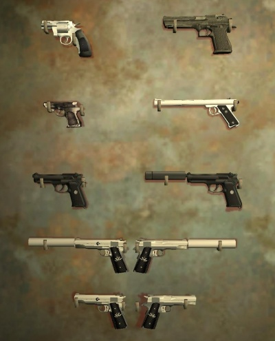 how to get weapons in hitman